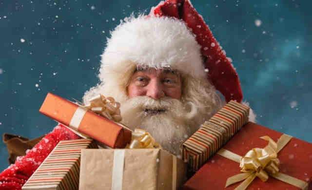 Babbo Natale Babbo Natale.Babbo Natale Consegna I Doni Al Parco Nenni Di Savignano Romagnauno